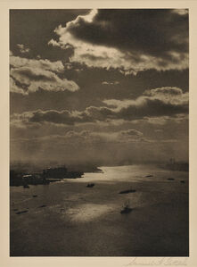View of the East River, Looking South, New York City