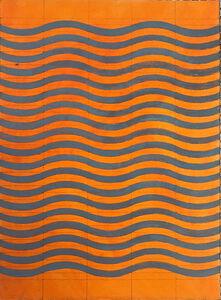 5 Waves Orange-Dark Grey