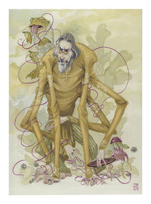 The Weave and the Weft - Alan Watts as Kamaji