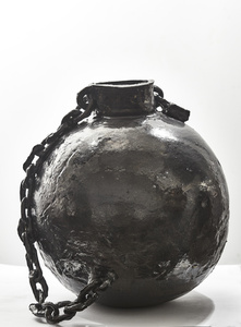 Ball and chain vase