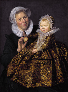 Catharina Hooft and Her Nurse
