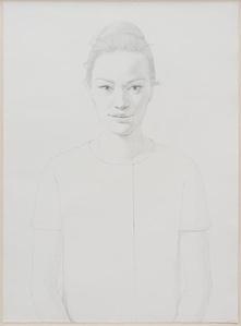 Portrait of Mie, (After Harper's Bazaar, July 1958)