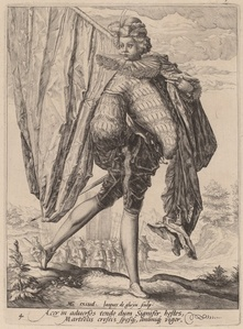 Soldier Armed with Broadsword and Shield