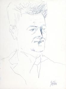 Portrait of Giorgio Caproni