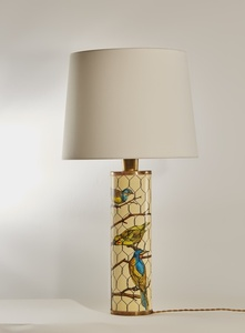 """Birds in a Cage"" Lamp"