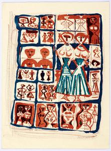 2 sheets: Costumi cretesi Le Gemelle