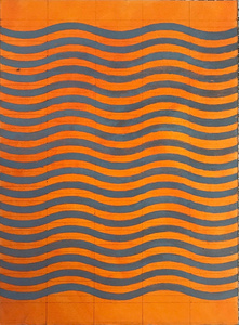 5 Waves Orange-Dark Grey