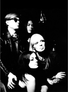 Andy Warhol, Mary Woronov, Nico and Susan Bottomly