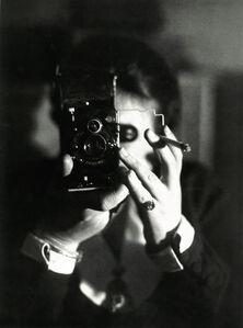 Autoportrait à l'Icarette (Self-portrait with Icarette)