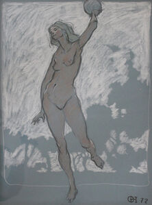 Female Nude 1972