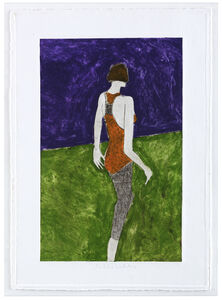 Mystery Woman Standing