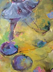 Degas' Ballerinas Skipping Over Monet's Water Lilies