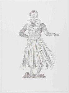 Hula Boy Dancing Bobble, Perceive-Conceive Series (Ed. of 11)