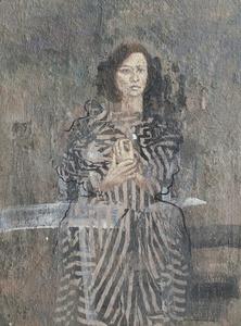 Lady with Titanium White Petal