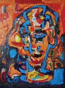 Untitled, (Self portrait)