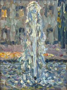 Le jet d'eau, Versailles