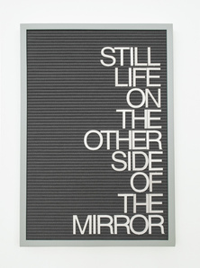 Untitled / Mirror (Homage to Rene Ricard)