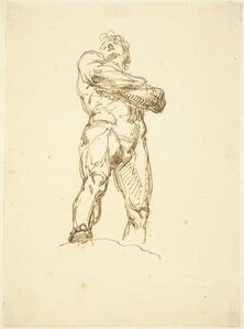 A Heroic Male Nude