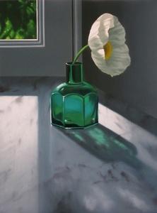 Poppy in Green Bottle