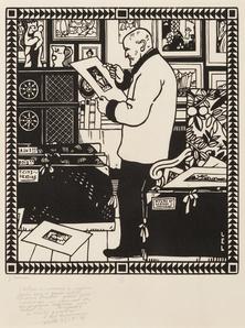 Le Collectionneur Alphonse Lotz-Brissoneau