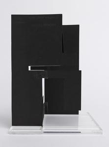 Negativo-positivo a tre dimensioni - scultura piegevole