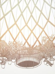 Inside the Pavilion (After Bruno Taut)