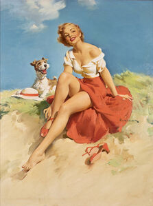 Untitled (Girl with Dog)