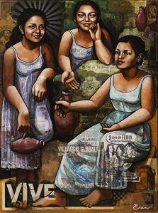 Las Hijas de Berta Caceres (after Picasso)