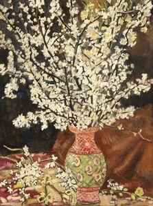 Bouquet de branches de cerisier