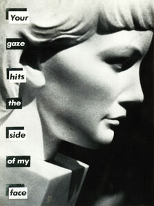 Untitled (Your gaze hits the side of my face)