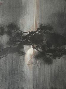 Under pine
