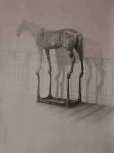 'The dressage nr I', study for film