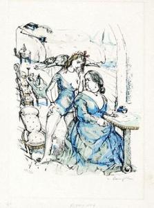Le Mesangre (Deux Femmes)