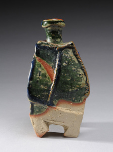 Sake Bottle Oribe