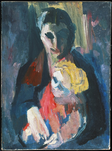 The Artist's Wife and Baby