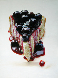 Big Blueberry Cheesecake