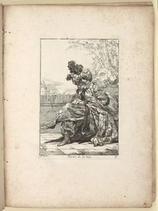 Caravanne du Sultan ala Mecque. Mascarade turque donneé a Rome par messieurs les pensionnaires de l'Académie de France et leurs amis au carnaval de l'année 1748