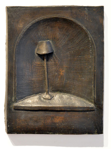 Standing Lamp in Niche