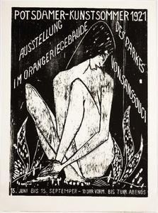 Potsdamer Kunstsommer 1921 - Große Sitzende