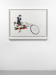 Untitled (Study with Girl and Bike)