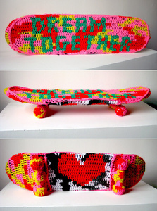 Crocheted Skateboard (Dream Together)