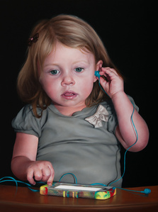 Girl with a Silent Phone