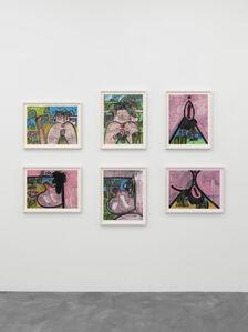 Carroll Dunham, Monotypes
