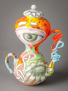 Double Eye Teapot #2