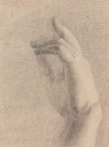 Study of a Hand [recto]