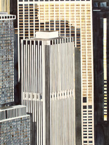 Lower Manhattan from 1200'
