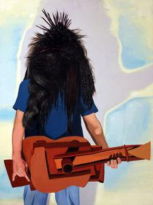 Heavy Metal Picasso Guitar