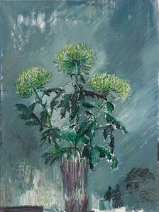 Drei grüne Chrysanthemen (Three green Chrysanthemum)
