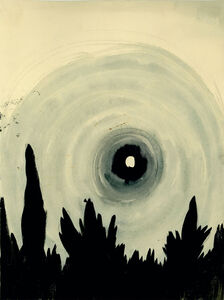 Untitled (Haloed Moon)