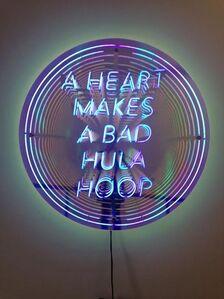 A Heart Makes A Bad Hula Hoop